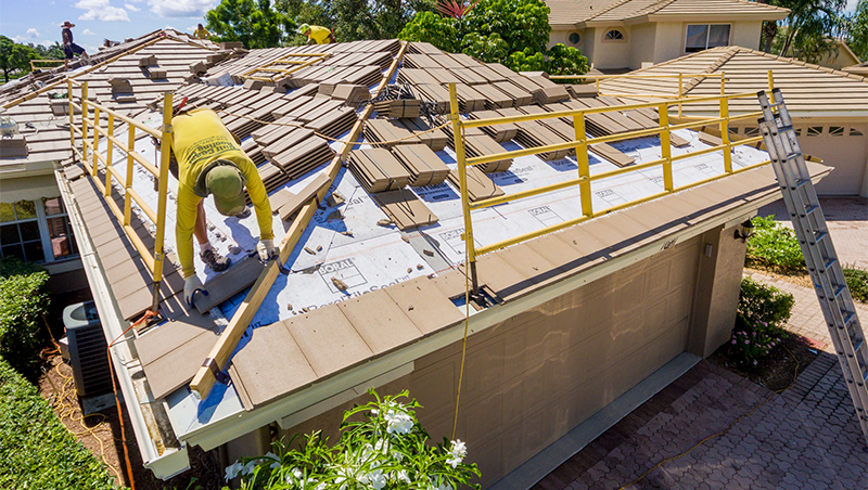 Tile Roofs Roofing Service Gulf Coast Roofing Company